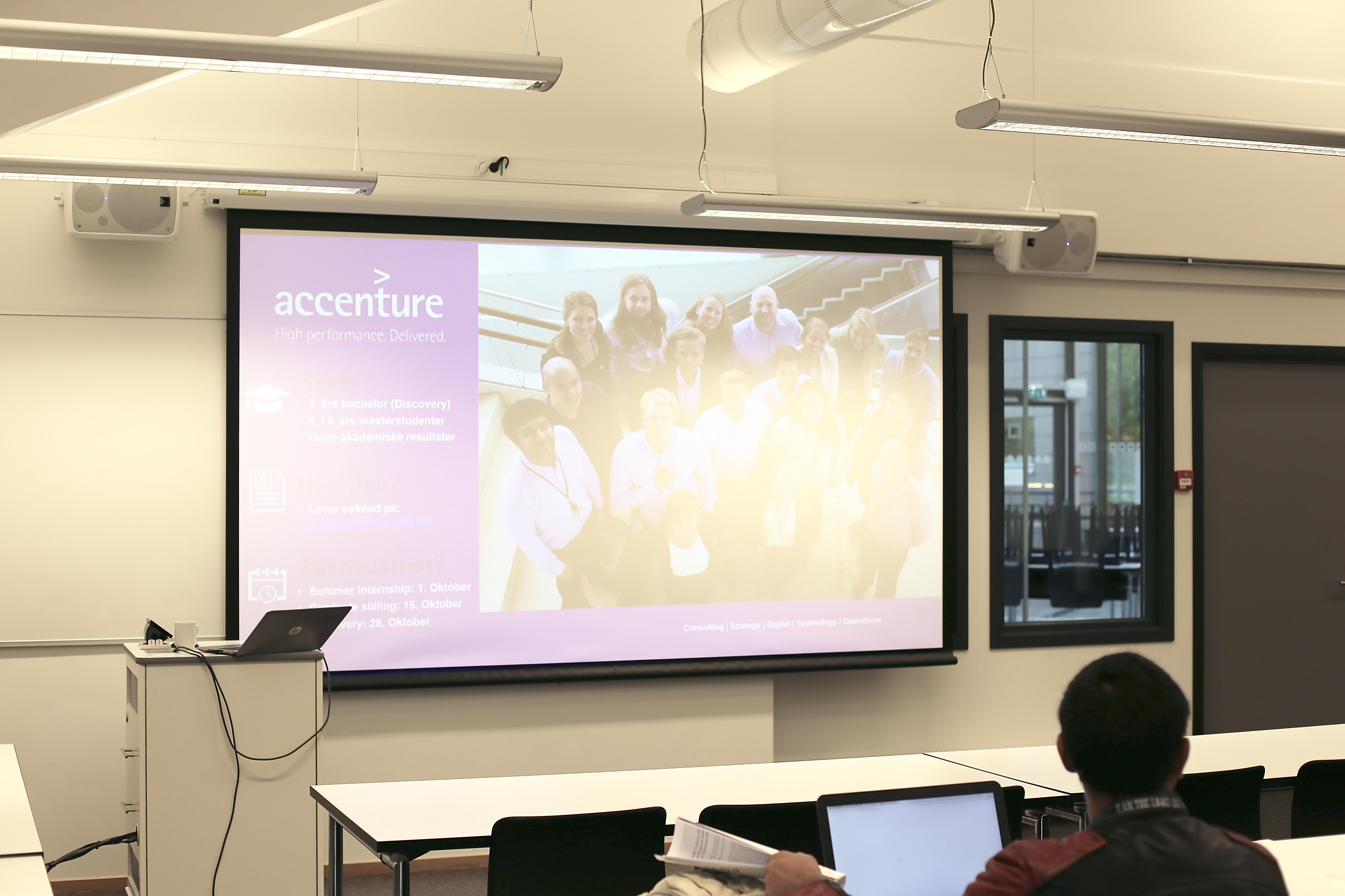 CV og søknadskurs + speedscreening med Accenture