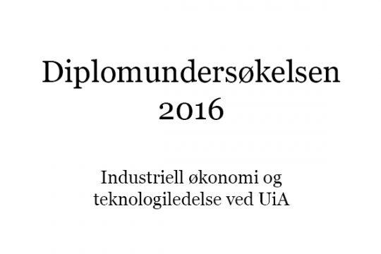 Diplomundersøkelsen 2016